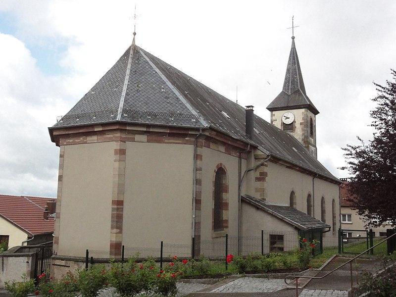 Dolving (Moselle) église