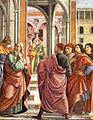 Domenico Ghirlandaio - Expulsion of Joachim from the Temple (detail) - WGA8829.jpg