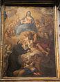 Domenico Maria Canuti, san gaetano riceve il bambino gesù da san giuseppe, alla presenza di maria in gloria 01.JPG