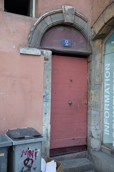 Doors of Lyon, France 27.jpg