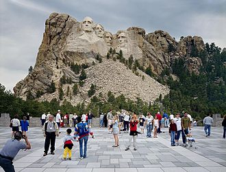 Doug Hall (artist) - Doug Hall, Mount Rushmore