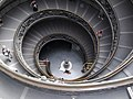 Down the Exit Stairs at the Vatican Museum - panoramio.jpg