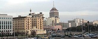 Metropolitan Fresno - Downtown Fresno skyline