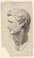 Drawing, Study of a Classical Male Head (from a plaster cast), 1881–92 (CH 18439669).jpg