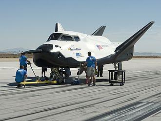 Dream Chaser - Dream Chaser flight test vehicle in 2013