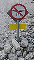 Drone prohibition sign in Westland NP.jpg