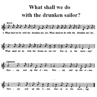 Drunken Sailor - Image: Drunken sailor