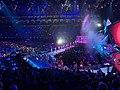 Dua Lipa performing at the BRIT Awards (45024856205).jpg