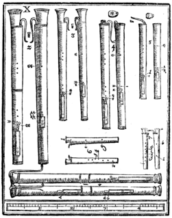 Dulcian reed instrument