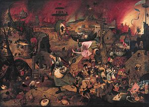Dull Gret - Image: Dulle Griet, by Pieter Brueghel (I)