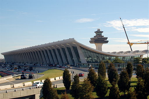 Dulles Airport Terminal