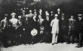 Dusan Popovic and Dimitrije Tucovic with a student delegation in Sofia, 1904.tif