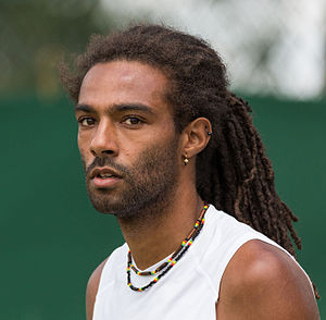 Dustin Brown (tennis) - Brown at the 2015 Wimbledon Championships