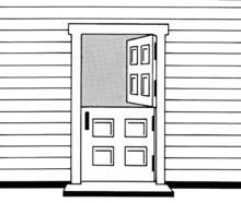Puerta wikipedia la enciclopedia libre for Puerta que se abre sola