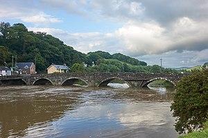 Machynlleth - Dyfi Bridge