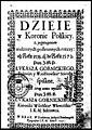 Dzieie w Koronie Polskiey, z przytoczeniem niektorych postronnych rzeczy od roku 1538 az do roku 1572. Post 1637 (76862967).jpg