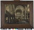E. de Witte - Interieur van een Protestantse Gotische Kerk - NK2730 - Cultural Heritage Agency of the Netherlands Art Collection.jpg