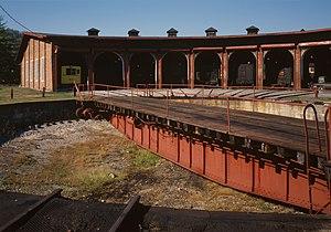 East Broad Top Railroad & Coal Company, Turnta...