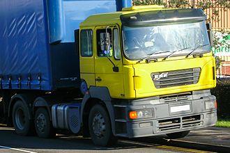 ERF (truck manufacturer) - 2001 ERF ECX (2nd generation)