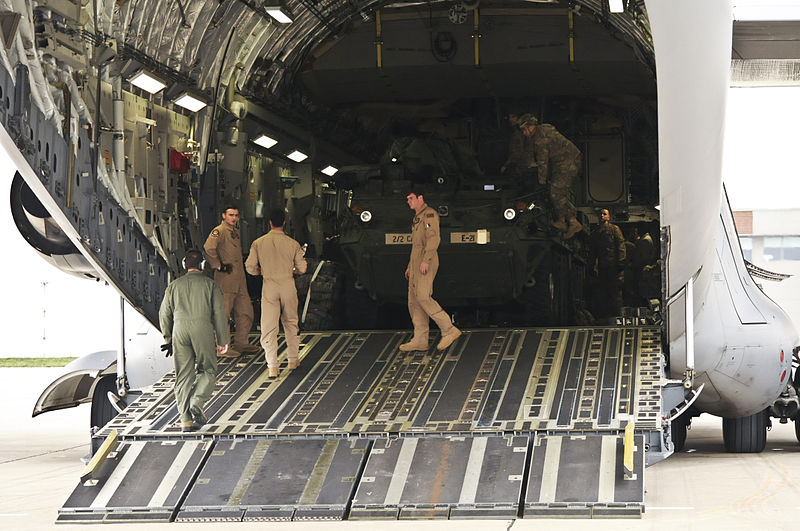 File:Eagle Troop, 2nd Sqdn, 2nd CR arrives in Bulgaria in support of Operation Atlantic Resolve-South 150329-A-EM105-358.jpg