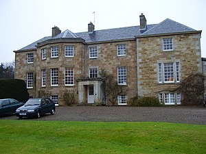 Patrick Stuart (British Army general) - Eaglescairnie House: home of Sir Patrick Stuart