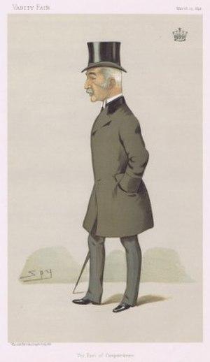 Robert Haldane-Duncan, 3rd Earl of Camperdown - The Earl of Camperdown as caricatured by Spy (Leslie Ward) in Vanity Fair, March 1895