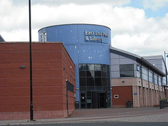 Byker - East End Pool and Library