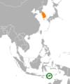East Timor South Korea Locator.png