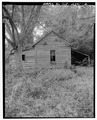 East side - Rambo-Ivey Tenant House, East of U.S. 27-State Route 1, North of County Road 132, Bluffton, Clay County, GA HABS GA,31-BLUFF.V,2-2.tif