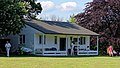 Eastons Cricket Club pavilion at Little Easton, Essex in 2018.jpg
