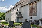 Ebenthal Radsberg Pfarrkirche hl. Lambert Sakristei und hl. Christopherus. 12062019 6767.jpg