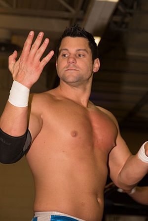 Eddie Edwards (wrestler) - Image: Eddie Edwards at Smash 2015