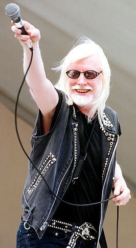 Edgar Winter in 2006.