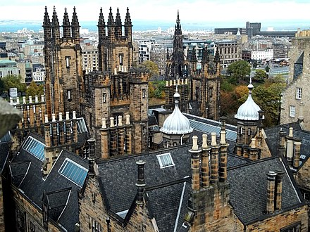 New College of the University of Edinburgh Edinburgh New College (8594473141).jpg