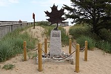Memorial do Edmund Fitzgerald em Whitefish Point.