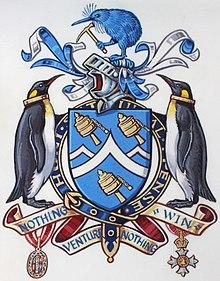 Edmund Hillary detay, Armoural letters patenti (AM 2014.7.17-4) (kırpılmış) .jpg