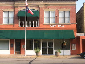 Edna, Texas - Edna City Hall