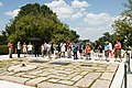 Educators tour Arlington National Cemetery during the Friends of the World War II Memorial Teachers Network and Conference (28459885905).jpg
