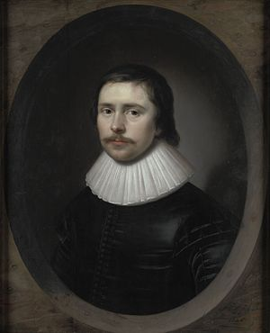 Edward Hyde, 1st Earl of Clarendon - Edward Hyde in 1626, aged 17, by Cornelis Janssens van Ceulen, UK Government art collection