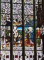Eferding Pfarrkirche - Chorfenster 2 Kreuzigung.jpg