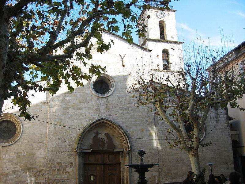 Eglise Saint-Sauveur, France , Manosque, Provence, France