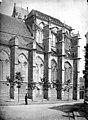 Eglise Saint-Sulpice - Abside, côté sud - Saint-Sulpice-de-Favières - Médiathèque de l'architecture et du patrimoine - APMH00004003.jpg