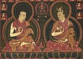 Eighth Karmapa, Mikyo Dorje (1507-1554) and his teacher the First Sangye Nyenpa - Google Art Project (cropped).jpg