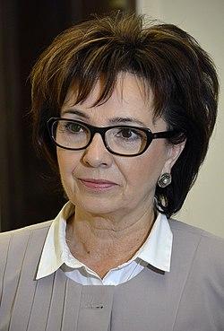 Elżbieta Witek Sejm 2015 02.JPG
