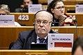 El consejero de Economía, Juan José Sota, en el pleno del Comité de las Regiones.jpg