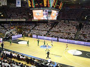 Élan Chalon - Le Colisée during the 2017 FIBA Europe Cup Final