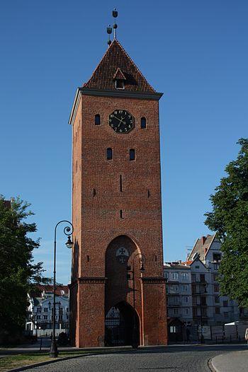Elbląg Market Gate Deutsch: Elbing, Markttor