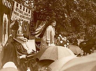 Eleanor Rathbone - Campaigning