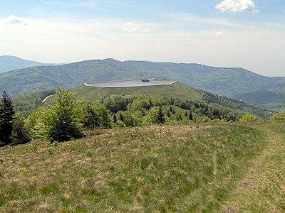 Górny zbiornik Elektrowni Porąbka-Żar