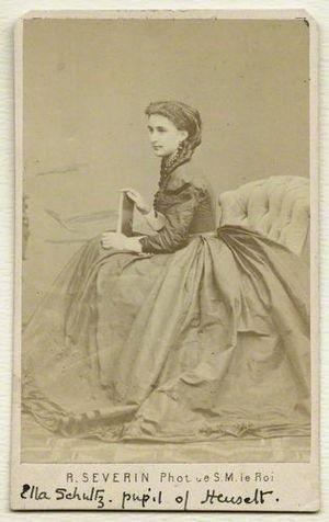 Ella Adayevskaya - Elisabeth von Schultz (Adayevskaya)
